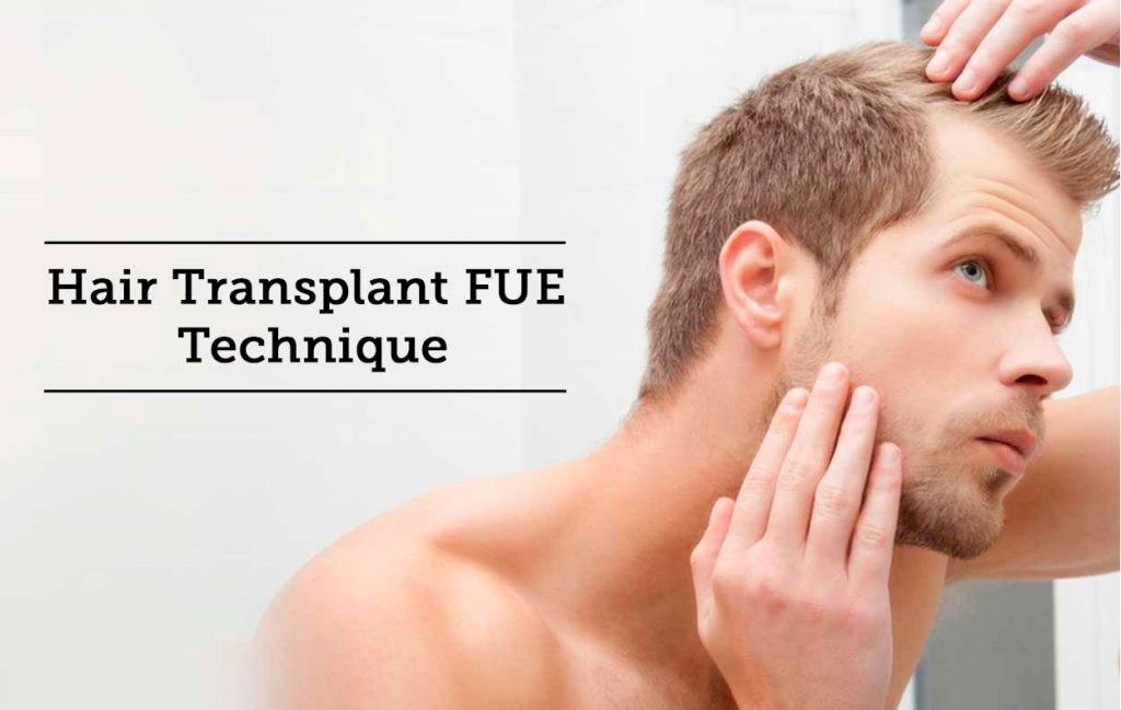 Hair transplant FUE technique Lahore